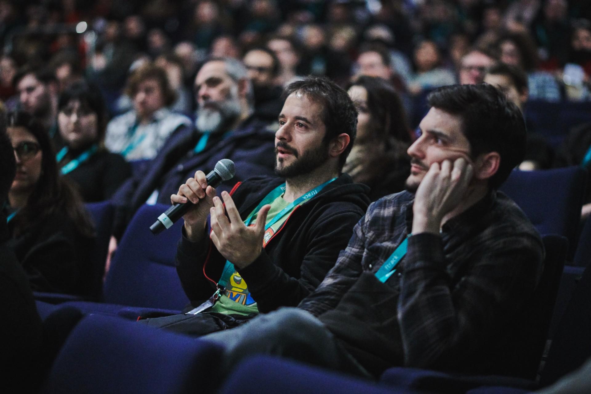 Audience at Vertex