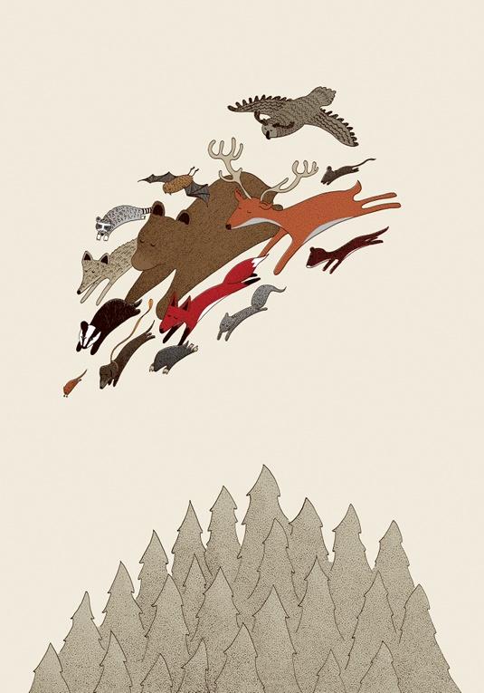 The Great Migration by Matt Ashton