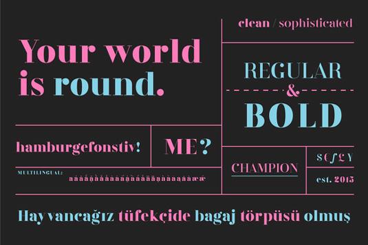Flabbergast font