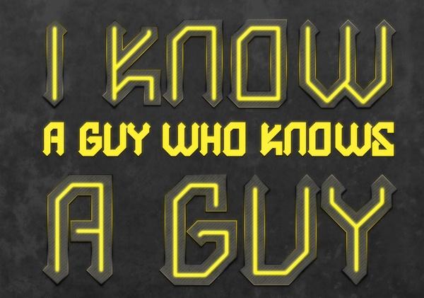 Marin Martinovic - I Know A Guy poster