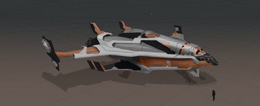 Game Space Ship: step 7