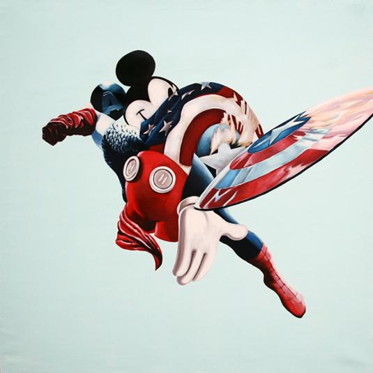 superhero mash-ups