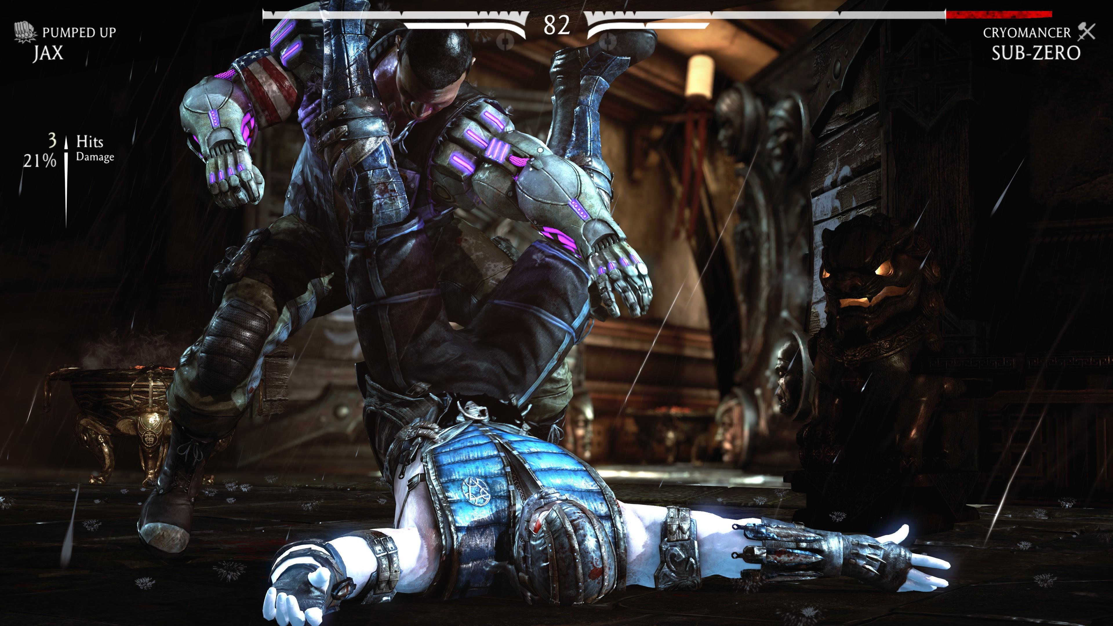 Best 4K games - Mortal Kombat X