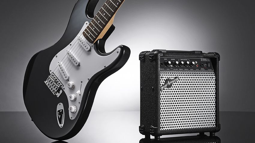 gear4music la electric guitar and amp pack review musicradar. Black Bedroom Furniture Sets. Home Design Ideas