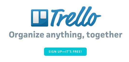 Online collaboration tools: Trello