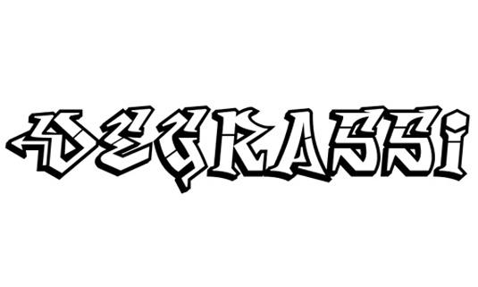 Graffiti font Degrassi