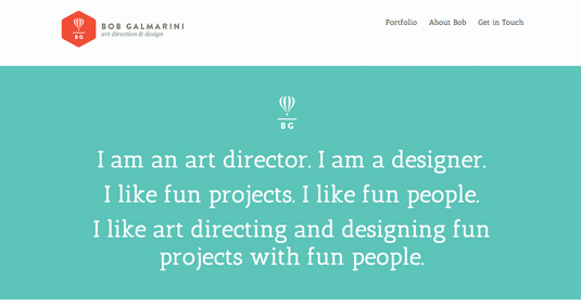 Bob Galmarini website