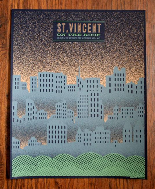 Gig Posters: St Vincent
