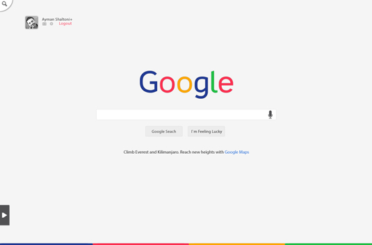 New Google redesign