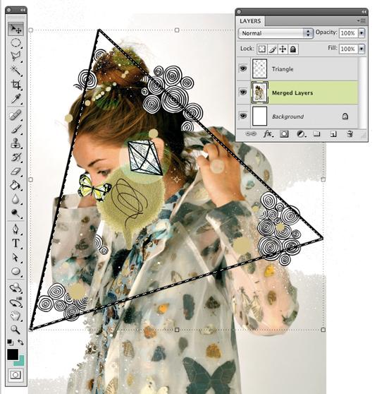 Kaleidoscopic collage 13