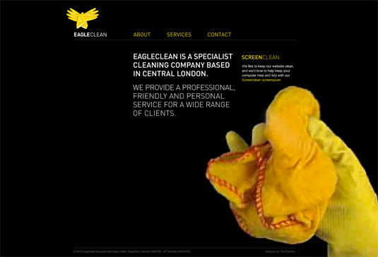 Website video background: Eagleclean