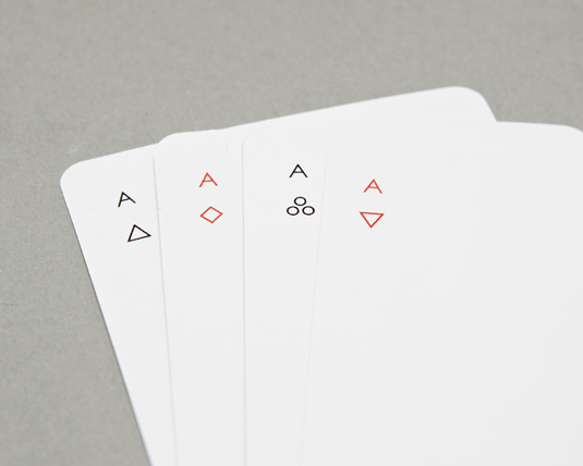 Playing cards by Joe Douchet