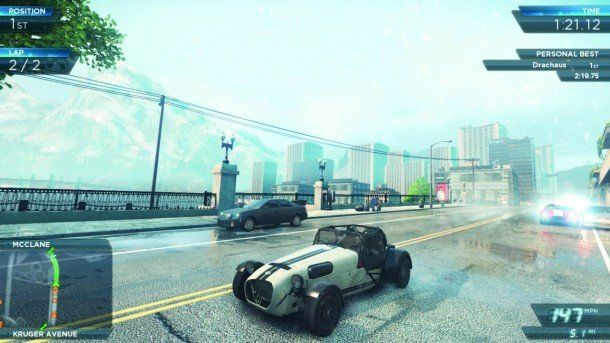 Gambar terkait dari game Need For Speed: Most Wanted PC
