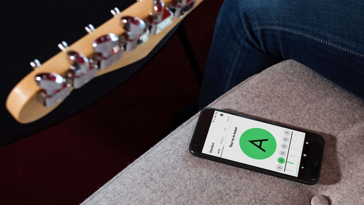 fender 39 s free tune app hits android devices musicradar. Black Bedroom Furniture Sets. Home Design Ideas