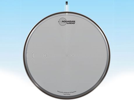 aquarian and miditronix unveils inhead acoustic electronic trigger drum heads musicradar. Black Bedroom Furniture Sets. Home Design Ideas