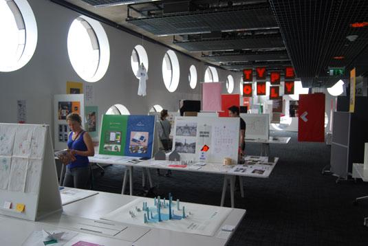Ravensbourne Graphic Design show