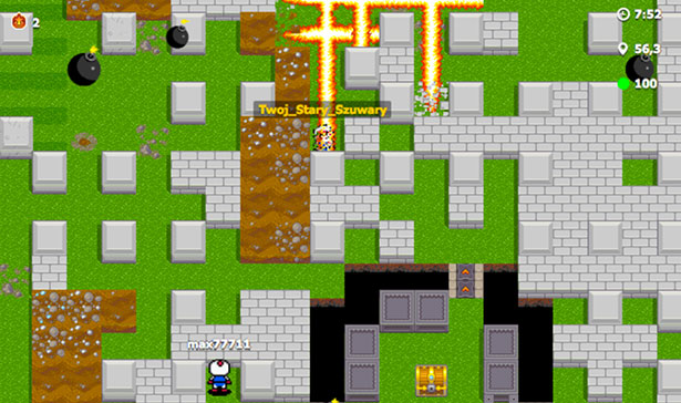 Best HTML5 games: Bombermine