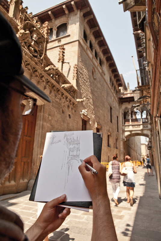 Why these artists took their Flickr group to the Barcelona streets