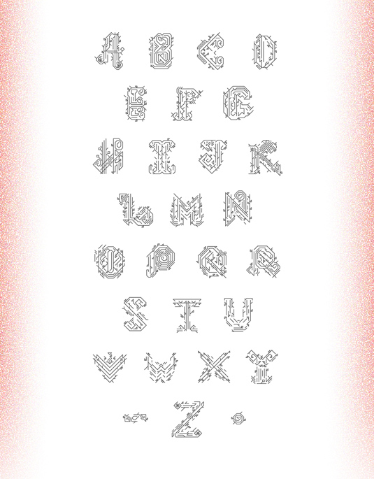 Free font: Lidia