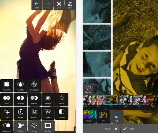 Pixlr photo editor software