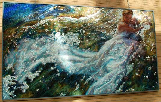 Mosaic art - Mia Tavonatti