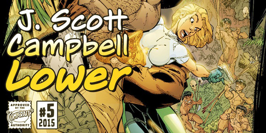 J Scott Campbell Lower font