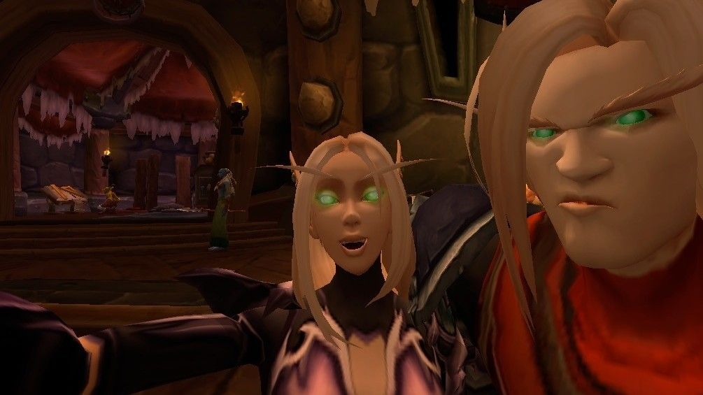 Your Best World Of Warcraft Selfies Pc Gamer