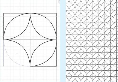 duplicate shape illustra