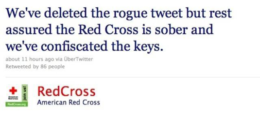 Embarrassing branding blunders - Red Cross recovery