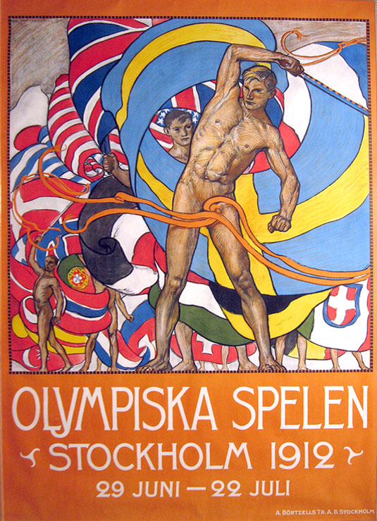 1912 Olympic poster