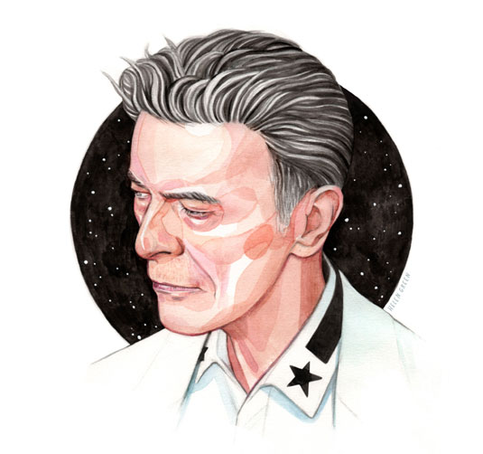 Helen Green David Bowie