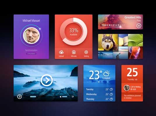 Free UI kit: PSD