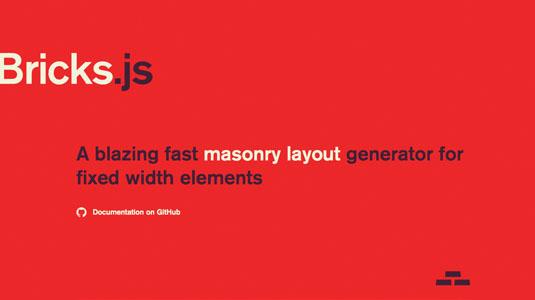 Web design tools: Bricks.js