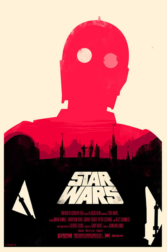 Olly Moss Star Wars poster