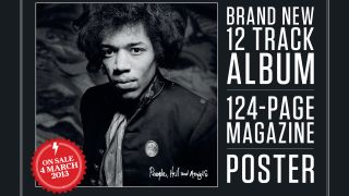 Classic Rock Presents Jimi Hendrix People Hell and Angels features 12 previously unreleased tracks