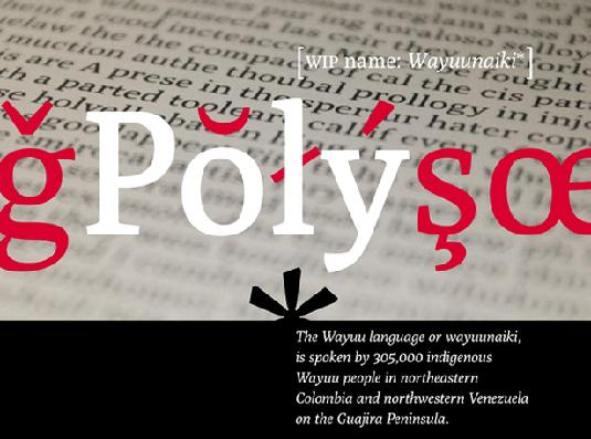 Free web fonts Poly