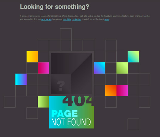 404 pages: Duoh!