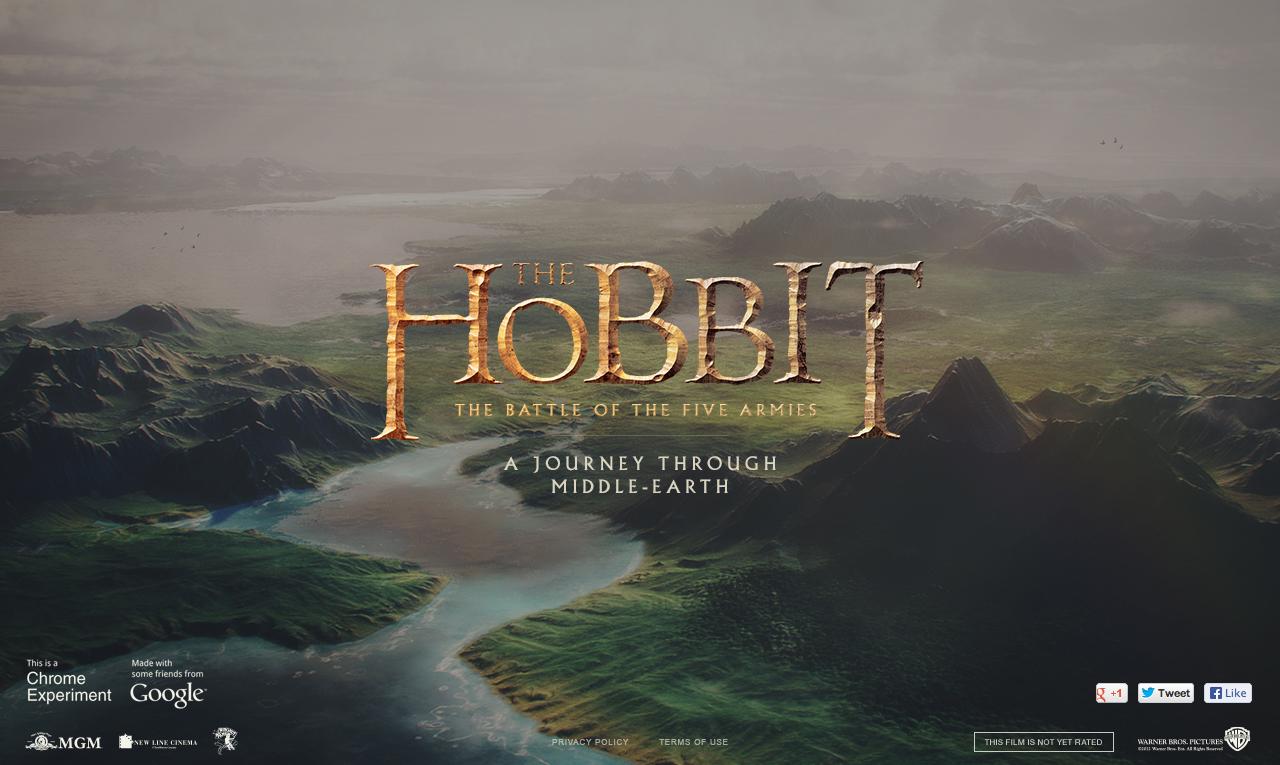 hobbit chrome experiment