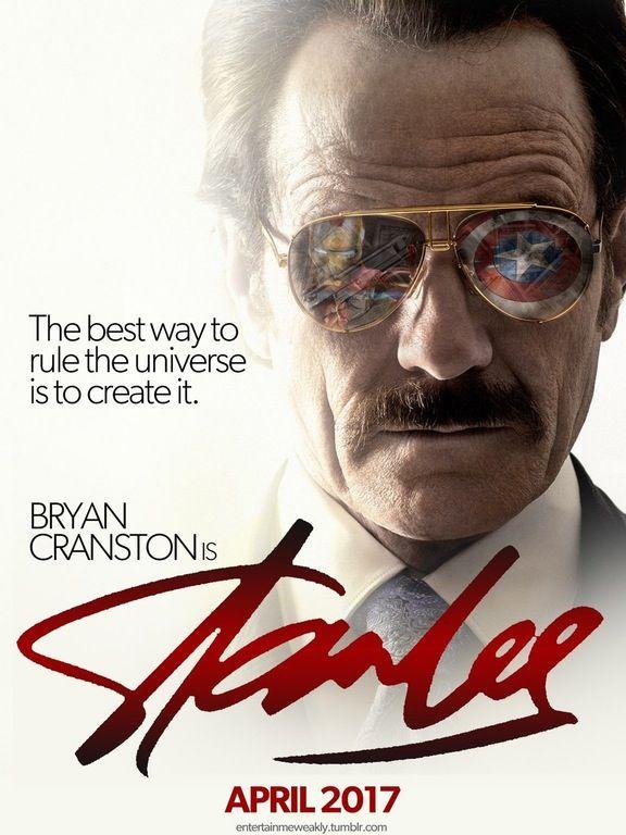 Poster Pelicula Stan Lee (Fan Art)