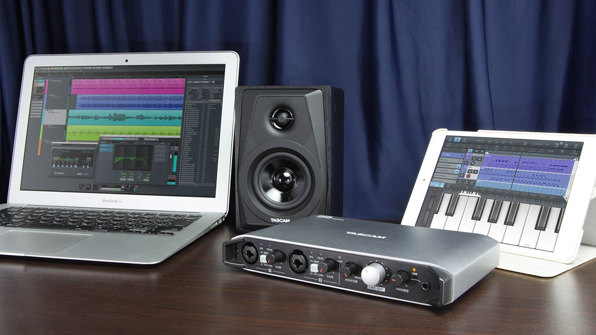 tascam 39 s ixr interface can connect straight to your iphone or ipad musicradar. Black Bedroom Furniture Sets. Home Design Ideas