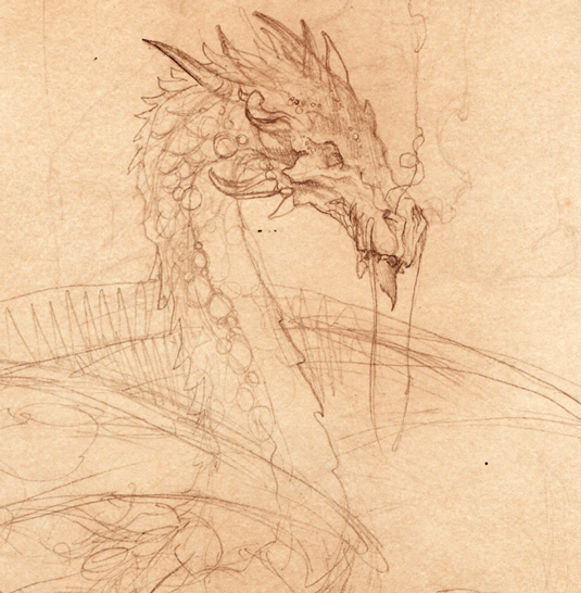 How to draw a dragon - smaug