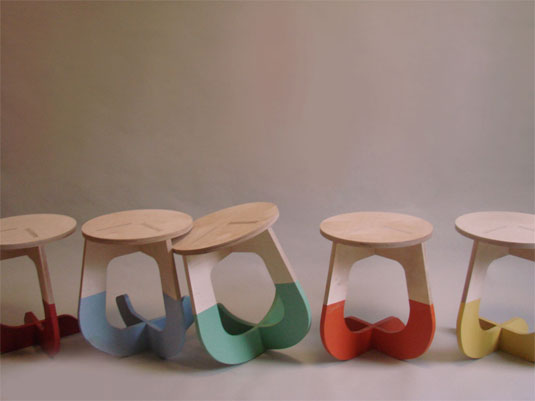 colour stool