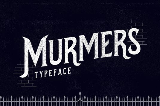 Free font: Murmers