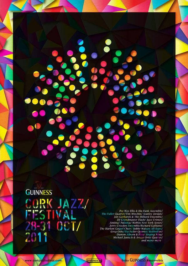 Basia Kozlik - Cork Jazz Festival Posters