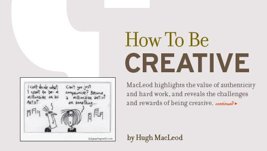 free ebooks: How to be Creative