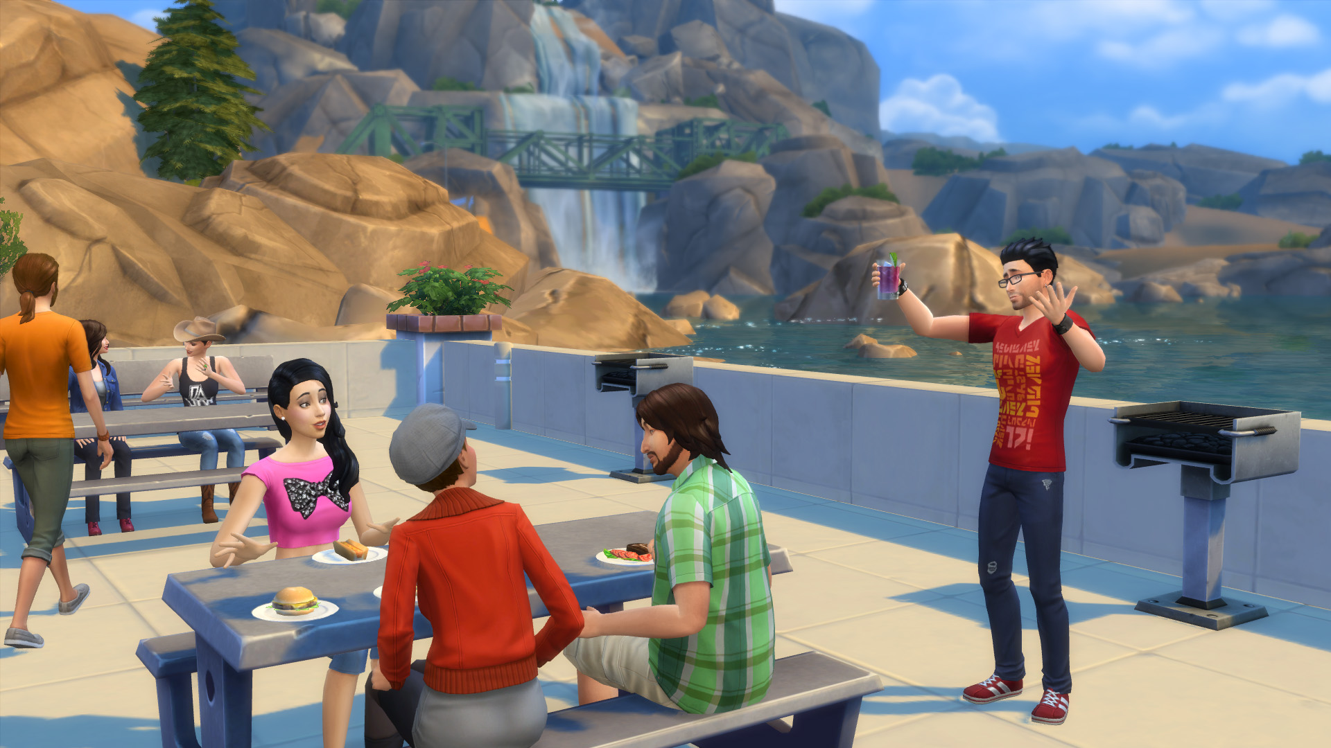 Arguing with the grim reaper and 7 other bizarre things for Awesome sims