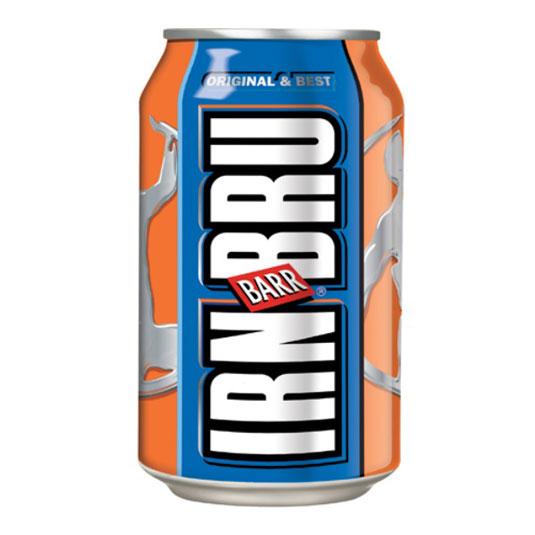 Top brands: Irn-Bru
