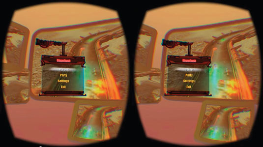 UX of VR: Blazerush