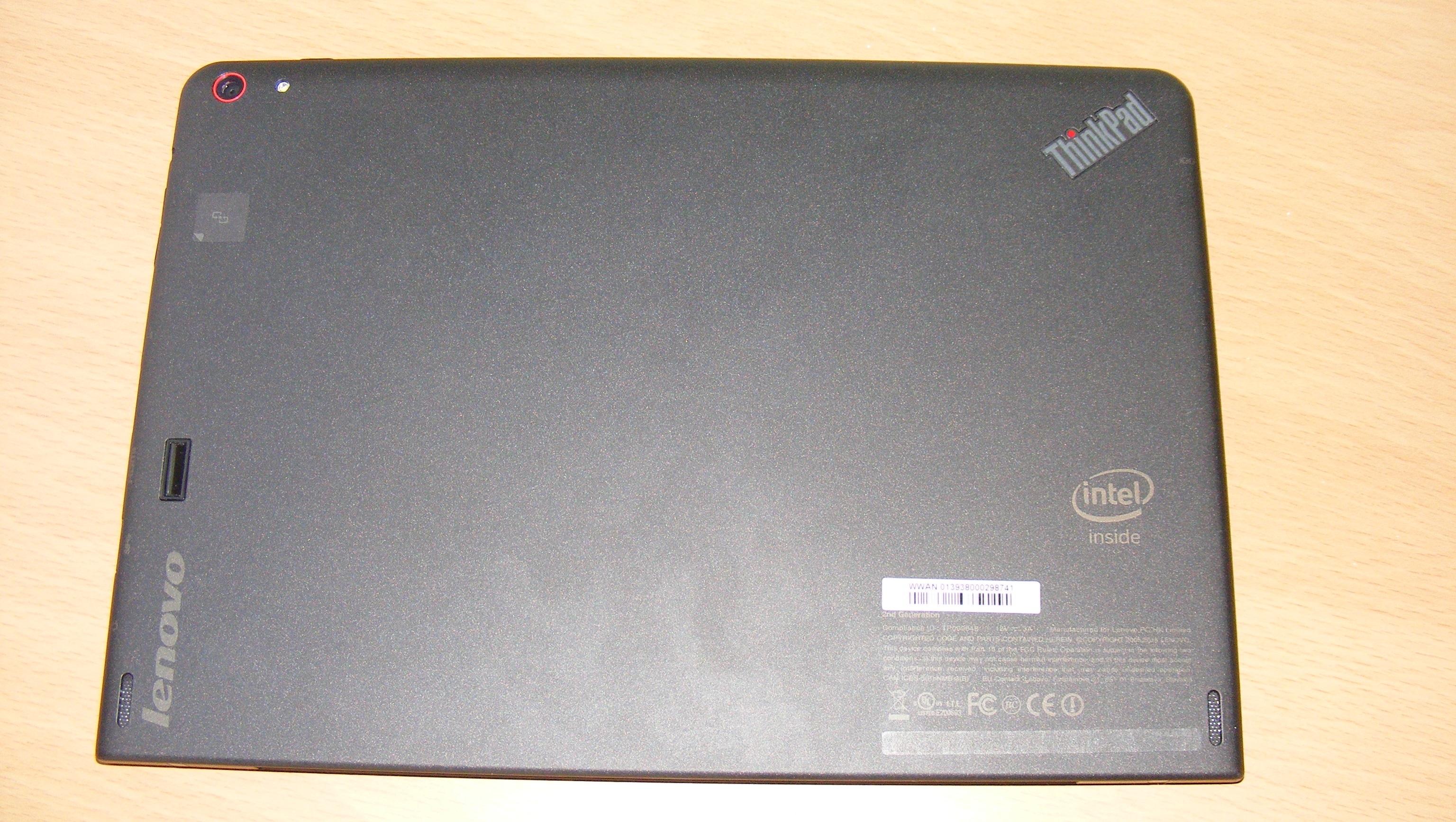 ThinkPad 10 back