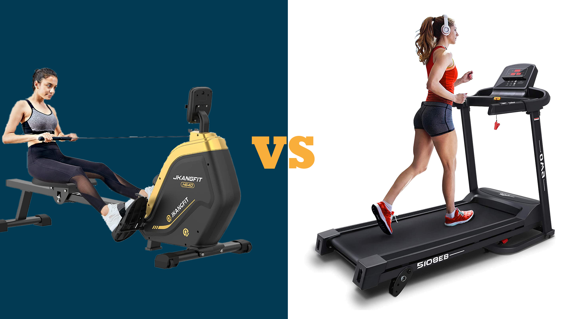 Rowing Machines vs Treadmills: Which is best for home use?